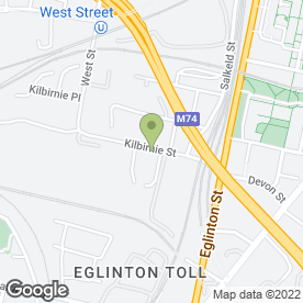 Map of Dent Centre Accident Repair in Glasgow, lanarkshire
