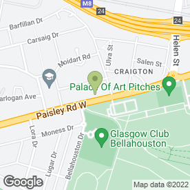 Map of Speed & Custom Glasgow in Glasgow, lanarkshire