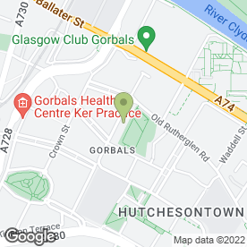 Map of Dr Willox & Partners in Glasgow, lanarkshire