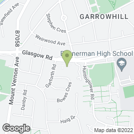 Map of MacRitchie Veterinary Practice Ltd in Baillieston, Glasgow, lanarkshire