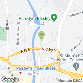 Map of S Brady Ltd in Paisley, renfrewshire