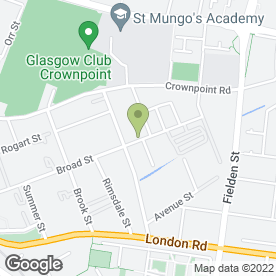 Map of Ace Fabrication in Glasgow, lanarkshire