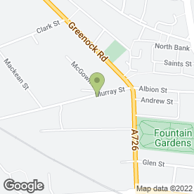 Map of Evergreen Flower Hire in Paisley, renfrewshire
