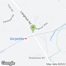 Map of KFM Scaffolding Supplies Ltd in Baillieston, Glasgow, lanarkshire