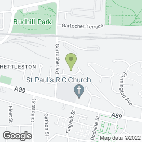 Map of P McGlashan Gas And Plumbing in Glasgow, lanarkshire