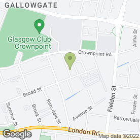 Map of T Autos in Glasgow, lanarkshire