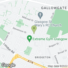 Map of Drs Ali & MacKenzie in Glasgow, lanarkshire
