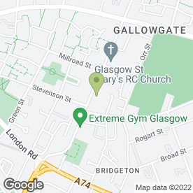 Map of Dr A Maguire in Glasgow, lanarkshire