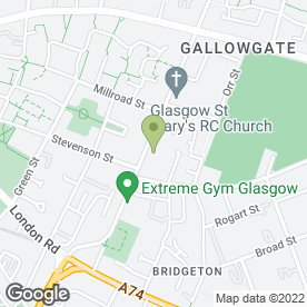 Map of Drs Jamieson & Day in Glasgow, lanarkshire