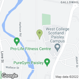 Map of Richardson & Starling (Northern) Ltd in Paisley, renfrewshire