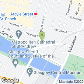Map of Shutterbug Photography Studio in Glasgow, lanarkshire