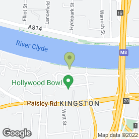 Map of AMF Bowling in Glasgow, lanarkshire