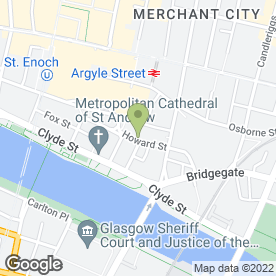 Map of Slaters in Glasgow, lanarkshire