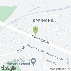 Map of Stringcroft Sizzler Pub in Baillieston, Glasgow, lanarkshire
