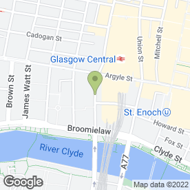 Map of Ivory Blacks in GLASGOW, lanarkshire