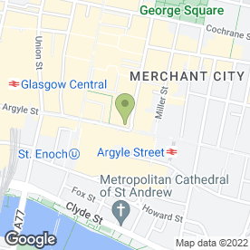 Map of Carphone Warehouse in Glasgow, lanarkshire