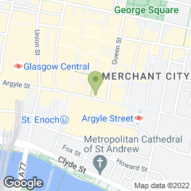 Map of Debenhams in Glasgow, lanarkshire