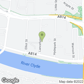 Map of The Number 1 Bead Shop in Glasgow, lanarkshire