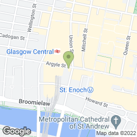 Map of McDonald's Restaurants Ltd in Glasgow, lanarkshire