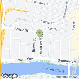 Map of Signature Brides & Bridesmaids in Glasgow, lanarkshire