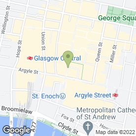 Map of Montgomery in Glasgow, lanarkshire