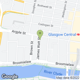 Map of Jackson's (Upholsterers Supplies) Ltd in Glasgow, lanarkshire