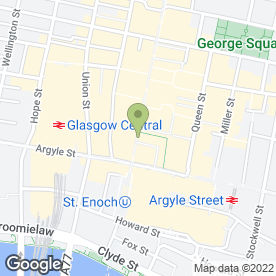 Map of Dada Events Ltd in Glasgow, lanarkshire
