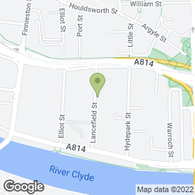 Map of A1 Car Body Repairs Ltd in Glasgow, lanarkshire