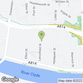 Map of Krauseworld International Martial Arts Academy in Glasgow, lanarkshire