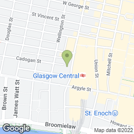Map of Hardy Macphail Solicitors in Glasgow, lanarkshire
