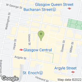 Map of Judy Plum Wigs in Glasgow, lanarkshire