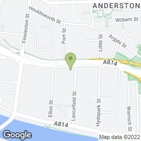 Map of Avis Rent A Car in Glasgow, lanarkshire