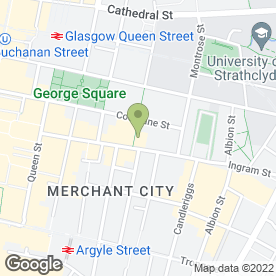 Map of Metro Sandwich Co in Glasgow, lanarkshire
