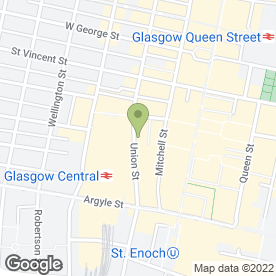 Map of GKR Cooling & Heating in Glasgow, lanarkshire