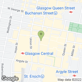 Map of Grant & Wylie in Glasgow, lanarkshire