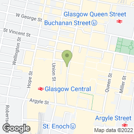Map of Oddbins in Glasgow, lanarkshire