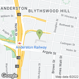 Map of Food 4 U in Glasgow, lanarkshire