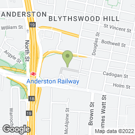 Map of Lodge Service UK Ltd in Glasgow, lanarkshire