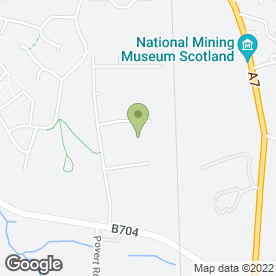 Map of Central Saab Specialist in Bonnyrigg, midlothian