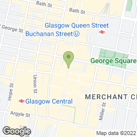 Map of AV Surveyors & Valuers in Glasgow, lanarkshire