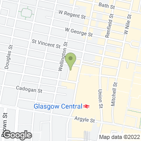 Map of Adlib in Glasgow, lanarkshire
