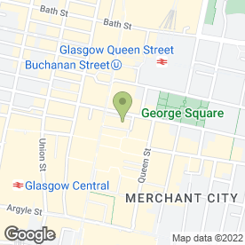 Map of Charlie Brown's in Glasgow, lanarkshire