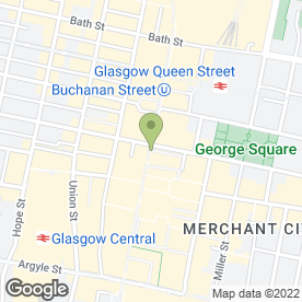 Map of WebEnergy in Glasgow, lanarkshire