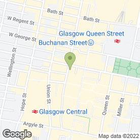 Map of Greggs in Glasgow, lanarkshire