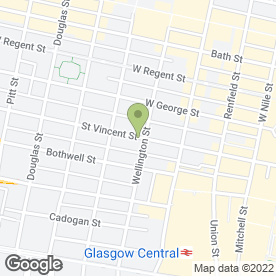 Map of Bonhams in Glasgow, lanarkshire