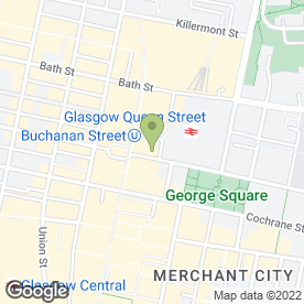 Map of A.S Wagner Solicitor & Estate Agent in Glasgow, lanarkshire