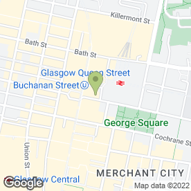 Map of A S Wagner Solicitor & Estate Agent in Glasgow, lanarkshire