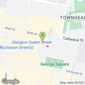 Map of Truva Laser Clinic in Glasgow, lanarkshire
