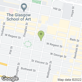 Map of Keppie Design Ltd in Glasgow, lanarkshire