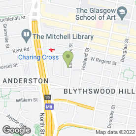 Map of Scout Shop in Glasgow, lanarkshire
